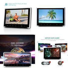 11.6 in (ca. 29.46 cm) HDMI Gioco Digitale Schermo Auto Poggiatesta Monitor Lettore DVD/USB/FM/SD