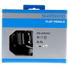 2018 Shimano PD-GR500 Flat Platform Freeride Mountain BMX Pedals Saint BLACK