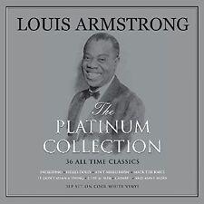 36 Classics Louis Armstrong Platinum Collection 3lp White Vinyl