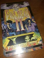Evil Dead 2 Ii 2000 Limited Edition Dvd Collector Tin Box Set Bruce Campbell New