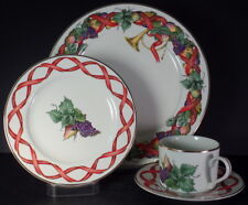 Royal Limited Holiday Harvest 4 Piece Place Setting(s)- New Condition