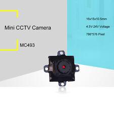 4-24V wide voltage!520TVL HD Micro super tiny color indoor security Camera