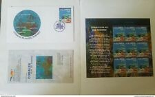 O) 2003 Colombia, Fish And Coral Of The Rosario Islands, Folder Xf