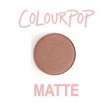 ColourPop Pressed Powder Eye Shadow Pan - MADE TO LAST - matte neutral mauve