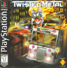 Twisted Metal - PS1 PS2 Complete Playstation Game