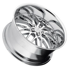 MRR GT1 19x9.5 5x120 Chrome Wheels Rims (Set of 4)
