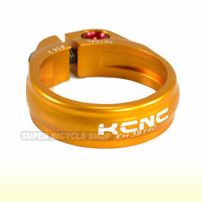 KCNC Sc9 Seat Post Clamp 7075 Alloy 38.2mm Gold