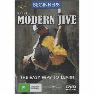 Beginners Moderrn Jive -Educational DVD Series Rare Aus Stock -Excellent
