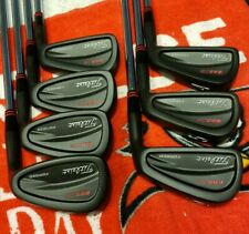 TITLEIST 695CB 4-PW BLACK NITRIDE BLUEPRINTED SPINE ALIGNED NIPPON SUPER PEENING