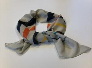 Paul Smith  Multicoloured SCARF 80%  Modal 20% Silk Length 27cm X 140 Cm  BNWT