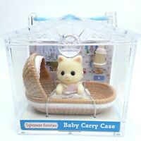 Sylvanian Families Baby Carry case Chantilly Cat figure toy doll Flair