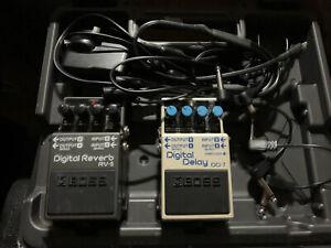 Boss BCB30X Pedal Board + Digital Delay DD7 + Digital Reverb Rv-5