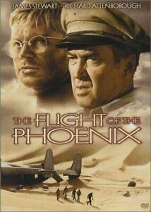 The Flight of the Phoenix DVD 1965 James Stewart Movie Rare Richard Attenborough