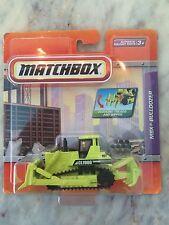 Matchbox 2009 MBX Bulldozer Green real working parts