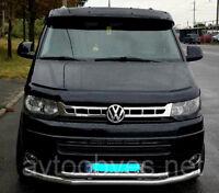 VW TRANSPORTER MULTIVAN CARAVELLE ABS BLACK ACRYLIC SOLID SUNVISOR SUN VISOR NEW