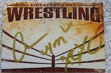 WWE Diva Cameron aka Ariane Andrew Signed Wrestling Autograph Card Auto