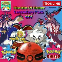 DLC Exclusive The Isle Of Armor legendary Pack Sword & Shield