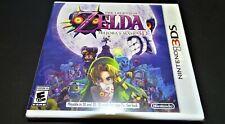 Original First Print The Legend of Zelda Majora's Mask 3D Brand New Nintendo 3DS