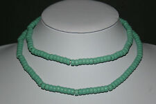 La plage Old Bohemian Crow Trade Beads Turquoise