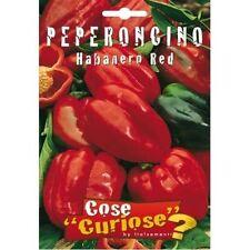 Faible Pépins / Graines Piment Habanero Red Rouge