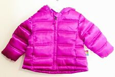 NWT Healthtex Girl's Bubble Jacket/ Coat, 12 Months, Sparkling Orchid