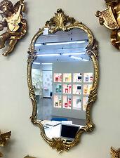 Espejo de Pared Barroco Oro Ovalado 98x55 Antiguo pasillo DORADOS C410