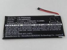 Akku für Sony eBook-Reader PRS-950, PRS-950SC u.a. 1700mAh