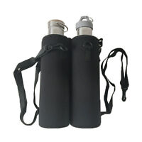Skillful Water Bottle Carrier Insulated Cover Bag Holder Strap Pouch Outdoor UK