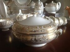 WEDGWOOD GOLD FLORENTINE - LIDDED TUREEN. 4 available