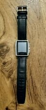 Pebble Steel 401S Smartwatch with Leather Band - doesn't hold charge