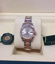 Rolex Silver Strap Wristwatches
