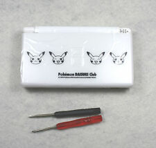 Full Parts Shell Replacement Housing For Nintendo DS Lite NDSL White Pikachu