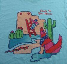 NOS Vintage 80's SANTA FE NEW MEXICO Vacation Souvenir SS T Shirt Size L