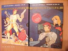 2x DVD-Box: Captain Future / Collection 1 + 2 (alle 40 Folgen/Erstausgabe) / top