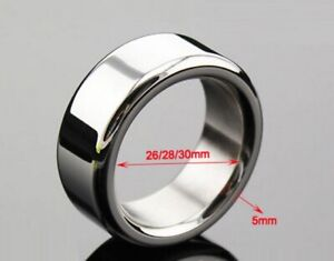 Stainless Steel Penis Holder Jewellery Steel Ring Sleeve Impotence Erection Ring