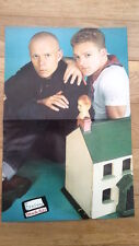 ERASURE 'dolls house' Centerfold magazine POSTER  17x11 inches