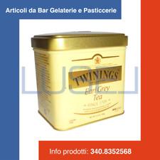 GR 100 TE' EARL GRAY TWININGS SFUSO IN LATTINA CLASSIC ENGLISH TEA