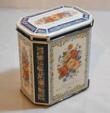 English Breakfast Tea Tin Box, empty