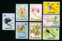 Singapore Stamps # 62-9 VF OG LH Catalog Value $65.90