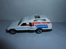 Vtg 1982 Mattel hot Wheels Minitrek Good Time Camper/Van/Truck BW Malaysia