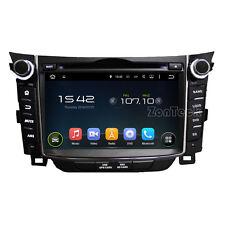 AUTORADIO Touch Hyundai i30 Navigatore Gps Comandi Volante bluetooth dvd Mp3 sd