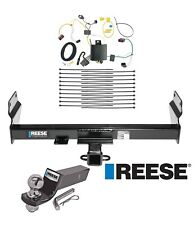 """Reese Trailer Tow Hitch For 14-20 Jeep Grand Cherokee Complete Wiring & 2"""" Ball"""