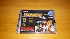 Starwing - Nintendo SNES Game - Boxed & Complete