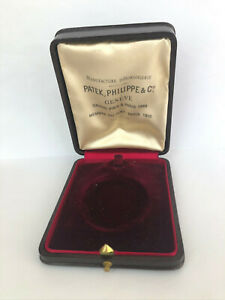 Rare Antique PATEK PHILIPPE & Co GENEVE Luxury Cherry Box pocket watch 1900's