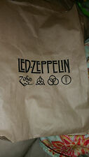 Led Zeppelin 2014 Brown shopping bag RSD record store day promo item
