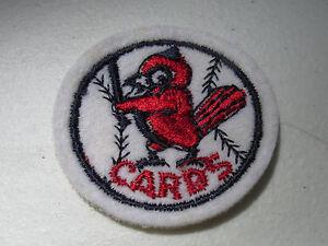 """Vintage 1960's ST LOUIS CARDINALS CARDS MLB 2"""" Felt Patch *MINT* NOS"""