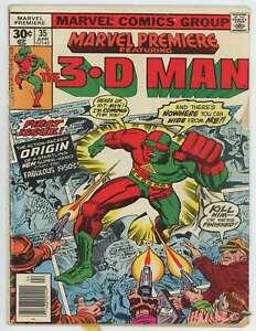 1977 Marvel Comics Marvel Premiere #35