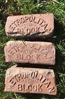 2 Antique 1920's Metropolitan Canton Block Paver Bricks From Streets Oak Park,IL
