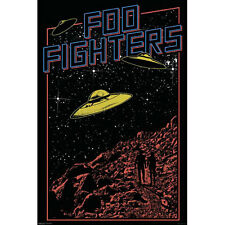 Foo Fighters POSTER 61x91cm NEW *American Rock Band Music UFO