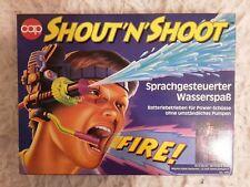 SHOUT'N'SHOOT Sprachgesteuerte Wasserpistole CAP TOYS Vintage 1993